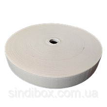 Широкая бельевая резинка для одежды Sindtex белая 2 см х 22,5 м (СИНДТЕКС-0053)