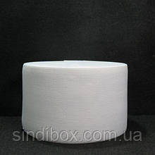 Широкая бельевая резинка для одежды Sindtex белая 10 см х 22,5 м (СИНДТЕКС-0063)