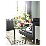 IKEA GLADOM Журнальный столик, темно-зеленый, 45x53 см (103.306.70), фото 5