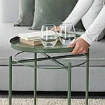 IKEA GLADOM Журнальный столик, темно-зеленый, 45x53 см (103.306.70), фото 6