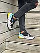 Кроссовки женские Adidas Falcon (черные-серые-бирюзовые) (Top replic), фото 6