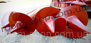 Винтовые сваи (гвинтові палі) диаметром 57 мм., длиною 2 метра