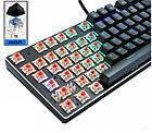 Механическая клавиатура Zuoya игровая подсветка русских символов! RGB, фото 4