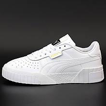Кроссовки женские Puma Cali белые (Top replic)