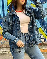 Модная джинсовая куртка, джинсовка ,коллаборация в стиле Louis Vuitton и Supreme,Луи Виттон Суприм