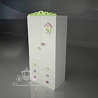 "Шкаф двухстворчатый с ящиками ""Лето"", фото 1"