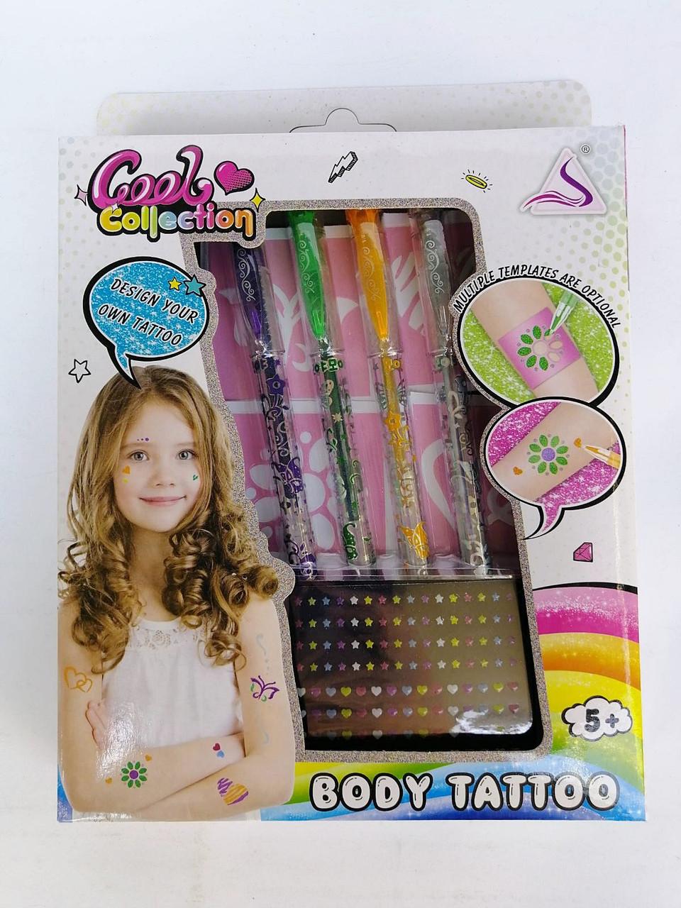 """Набор для девочек """"Body Tattoo"""""""
