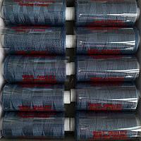 Нитки швейні 40/2 (400Y) синій джинс
