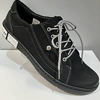 Кожанные кроссовки из набука 37,38