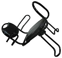Детское велокресло. Со складной спинкой. Велокресло. Детское кресло для велосипеда. Кресло для велосипеда.