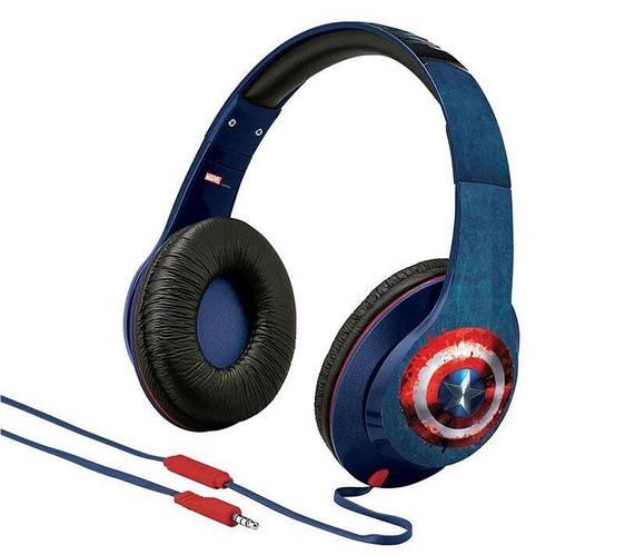 Картинка товара Наушники eKids/iHome MARVEL, Avengers Civil War, Captain America, Mic