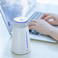 Увлажнитель воздуха Baseus Slim Waist Humidifier c LED лампой и USB вентилятором Белый