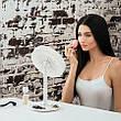 Зеркало косметическое c подсветкой Brise Fraiche Led с вентилятором увеличительное, фото 5
