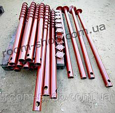 Широколопастные сваи (гвинтові палі) диаметром 76 мм., длиною 3 метра, фото 2