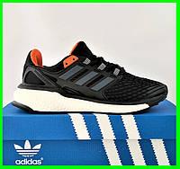 Кроссовки Adidas Energy Boost Чёрные Мужские Адидас (размеры: 41,42,44,45) Видео Обзор