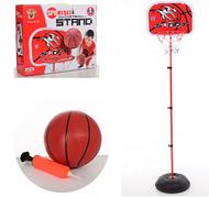 Детский баскетбольный набор Bambi MR 5708, стойка 1,2 м, баскетбольное кольцо, мяч, насос