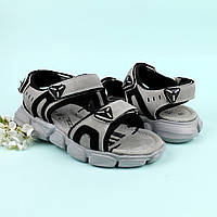 Босоножки подростковые спортивные открытый носок на мальчика Том.м размер 32,33,34,35,36
