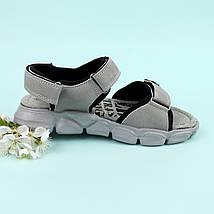 Босоножки подростковые спортивные открытый носок на мальчика Том.м размер 34,35,37, фото 2