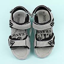 Босоножки подростковые спортивные открытый носок на мальчика Том.м размер 34,35,37, фото 3
