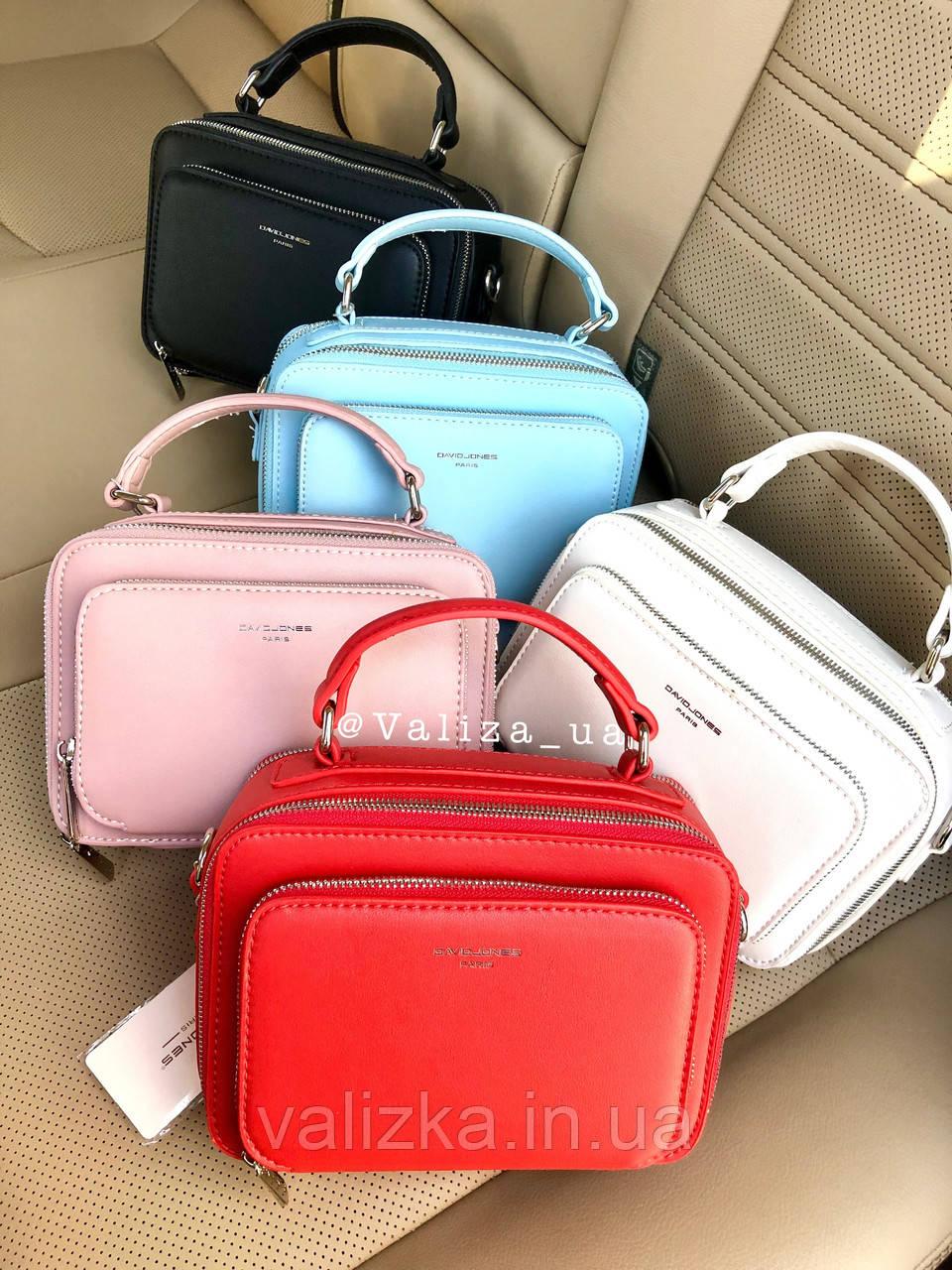 Женская сумка кросс-боди David Jones 3966  на 2 отделения  / жіноча сумка