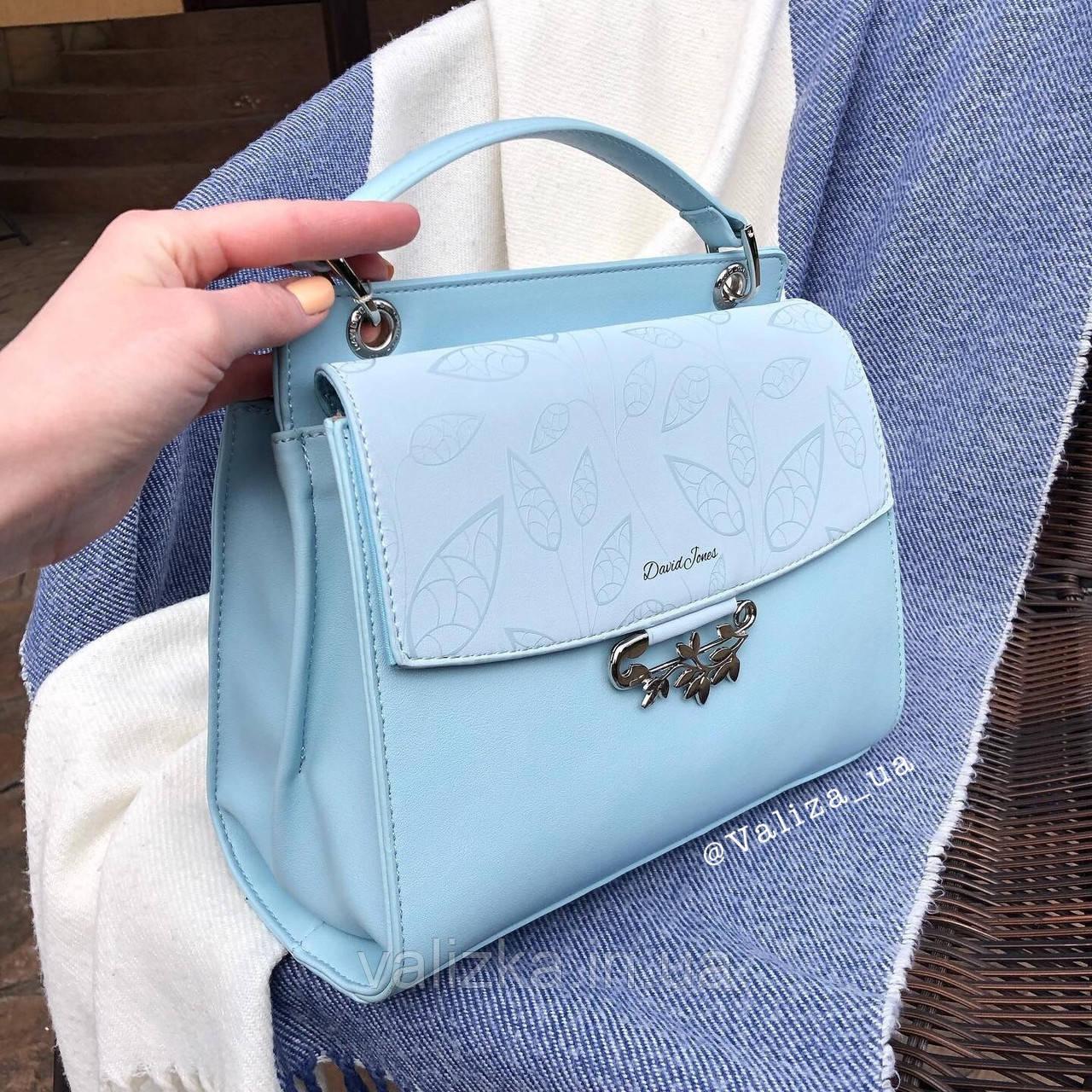 Женская сумка David Jones голубая