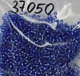 37050 чеський Бісер Preciosa №10 (5 грамм) синій, фото 2