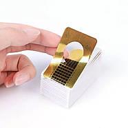 Формы для наращивания ногтей, узкие, 100шт, фото 3