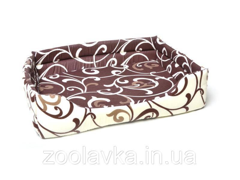 Лежак для котов и собак Collar, Лежанка прямоугольная №4 70*52*17