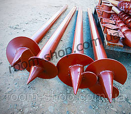 Винтовая однолопастная свая (паля) диаметром 76 мм., длиною 5.5 метров, фото 3