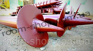 Однолопастная гвинтова паля (палячи) діаметром 76 мм, довжиною 6 метрів