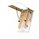 Чердачная лестница деревянная Fakro LWK Komfort H 305 60х130, фото 4