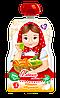 """Пюре Яблоко-Абрикос 90г в мягкой упаковке, от 5 мес., ТМ""""Алёнка любит..."""""""