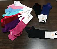 Однотонные женские укороченные спортивные носки ТМ Misyurenko