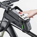 Сумка для велосипедов маленькая на раму RockBros (681Y), фото 6