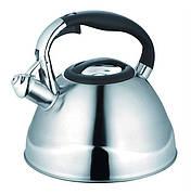 Чайник Maestro MR-1338 Зі свистком 3 л Нержавіюча сталь