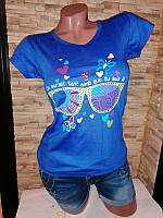 Женская футболка, хлопок. Размер 42-44