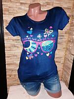 Женская футболка, хлопок. Размер 46-48