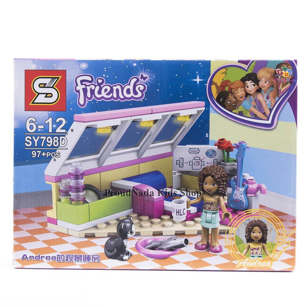 Конструктор sy798 lego friend лего mia stephanie emma andrea