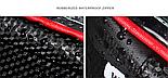 Велосумка на раму с отделом для смартфона черная, фото 3