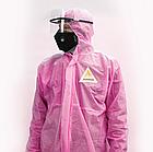 Защитный комбинезон Bezpekar L/XL Розовый (979), фото 2