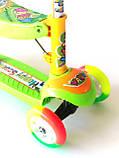 Самокат - Беговел детский Scooter R6 трансформер с сидушкой и  вертушкой, фото 5