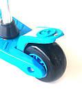 Самокат - Беговел детский Scooter R6 трансформер с сидушкой и  вертушкой, фото 9