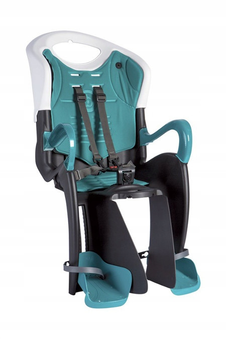 Велокрісло Bellelli Tiger Італія на раму relax з рухомою і відкидною спинкою бірюзовий