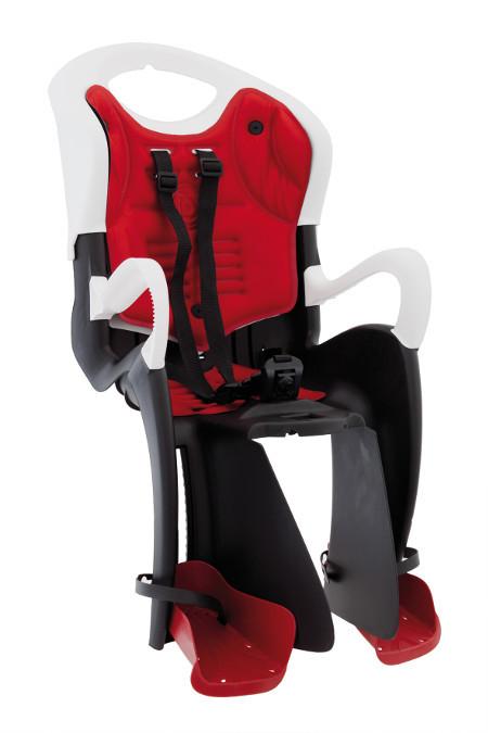 Велокрісло Bellelli Tiger Італія на раму relax з рухомою і відкидною спинкою червоний