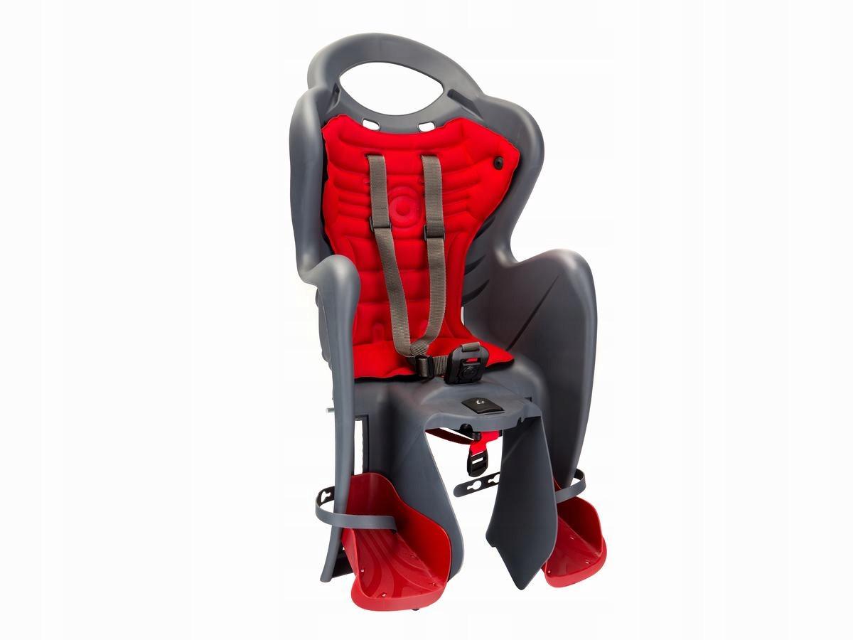 Велокрісло Bellelli Mr. Fox Італія clamp на багажник сірий