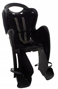 Велокрісло Bellelli Mr. Fox Італія clamp на багажник чорний