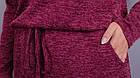 Леся. Оригінальне плаття для пишних дам. Бордо., фото 4