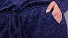Леся. Оригінальне плаття для пишних дам. Синій., фото 4