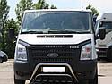 Кенгурятник подвійний (захист переднього бампера) Ford Transit 2006-2015, фото 2