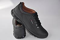 Кроссовки кожаные Club Shoes K1ТЧерный Размеры 40-45